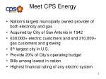 meet cps energy