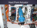 hard point actuator