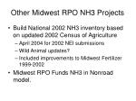 other midwest rpo nh3 projects
