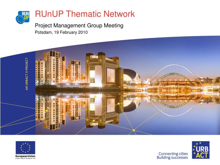 runup thematic network n.