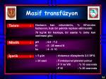 masif transf zyon