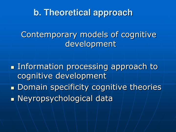 b. Theoretical approach