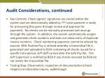 audit considerations continued4