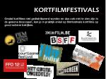 kortfilmfestivals
