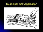 tourniquet self application