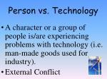 person vs technology1