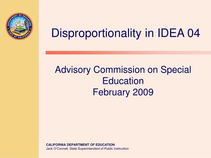 advisory commission on special education february 2009 n.