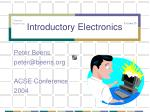 introductory electronics
