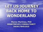 let us journey back home to wonderland