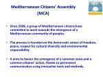 mediterranean citizens assembly mca