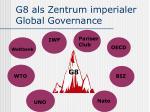 g8 als zentrum imperialer global governance