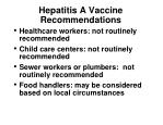 hepatitis a vaccine recommendations1