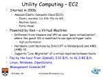 utility computing ec2