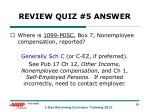 review quiz 5 answer