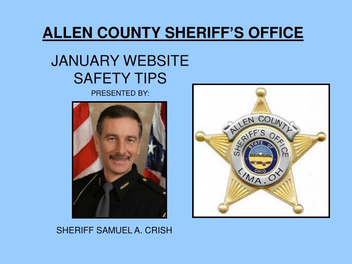 allen county sheriff s office n.
