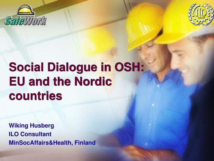 social dialogue in osh eu and the nordic countries n.
