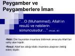 peygamber ve peygamberlere man1