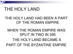 the holy land1