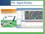 its signal priority