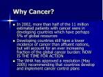 why cancer