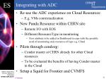 integrating with adc