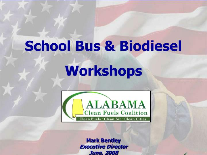 School Bus & Biodiesel