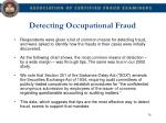 detecting occupational fraud2