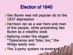 election of 18401