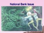 national bank issue1