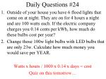 daily questions 24