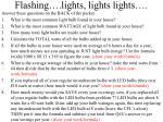 flashing lights lights lights