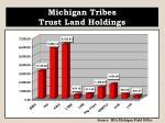 michigan tribes trust land holdings