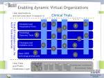 enabling dynamic virtual organizations