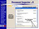 document inspector 2