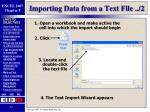importing data from a text file 2
