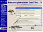 importing data from text files 3