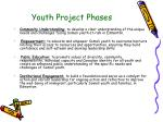 youth project phases