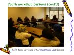 youth workshop sessions cont d1