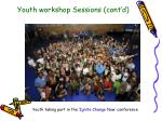 youth workshop sessions cont d3