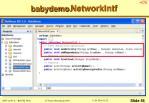 babydemo networkintf