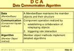 d c a d ata c ommunication a lgorithm