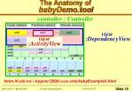the anatomy of babydemo tool