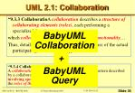 uml 2 1 collaboration