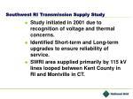 southwest ri transmission supply study
