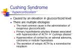 cushing syndrome hypercorticolism