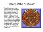 history of the cosmos