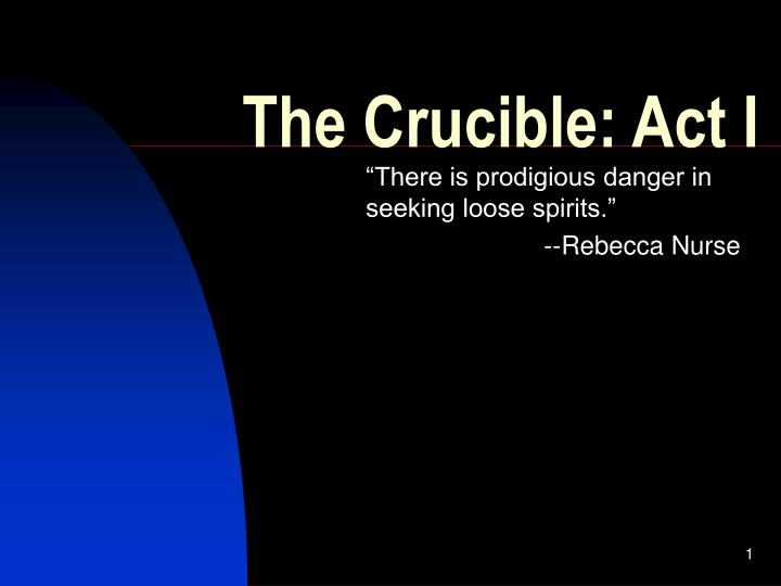 the crucible act i n.