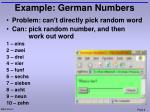example german numbers1