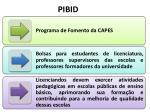pibid