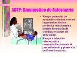 actp diagn stico de enfermer a3